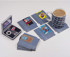 Nintendo NES Cartridge Coasters for Drinks (Posavasos) en internet