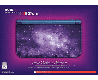 New Galaxy Style New Nintendo 3DS XL Console