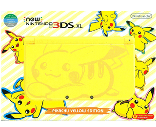 New 3ds Xl Pikachu Edition