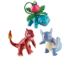 Pokemon 3 Pack 3 inch Action Figure - Ivysaur, Wartortle, and Charmeleon - TOMY