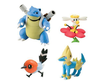 Pokemon 4 figure gift Pack Blastoise, Flabebe, Fletching and Mancetric