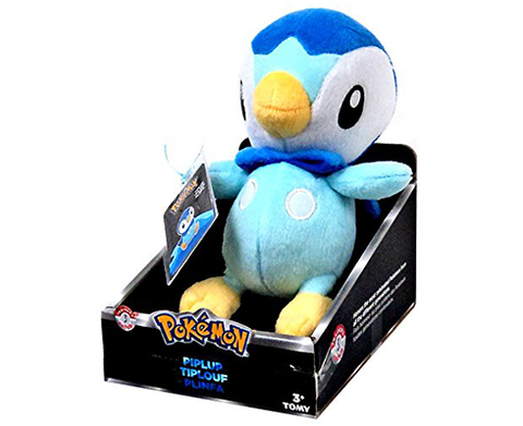 Plush Pokemon Trainer PIPLUP 21cm