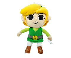 Nintendo Official Legend of Zelda Plush Toon Link 18cm
