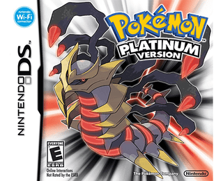 Pokemon Platinum Version - DS