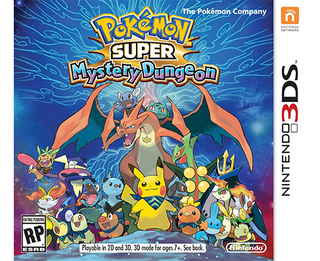 Pokemon Super Mystery Dungeon - 3DS