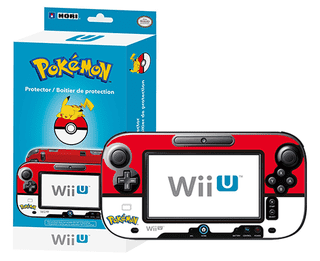 Protector Gamepad Wii U POKEMON Pokeball  HORI en internet