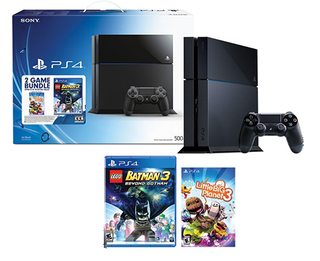 Playstation 4 500gb - Lego Batman 3 and Little Big Planet 3 - Bundle