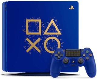 PlayStation 4 Slim 1TB Limited Edition Console - Days of Play Bundle