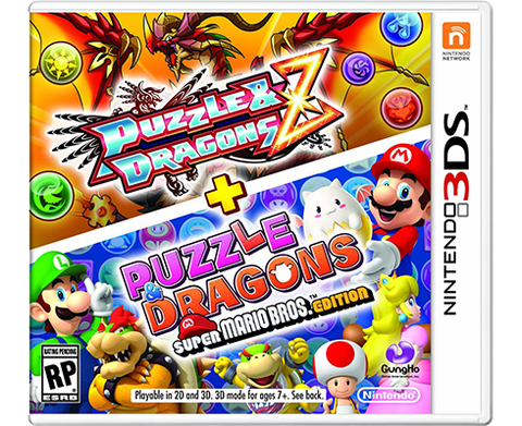 Puzzle & Dragons Z + Puzzle & Dragons Super Mario Bros Edition 3ds