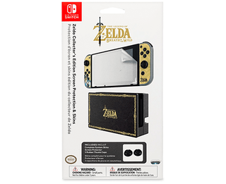 Zelda Collector's Edition Screen Protection & Skins - Nintendo Switch
