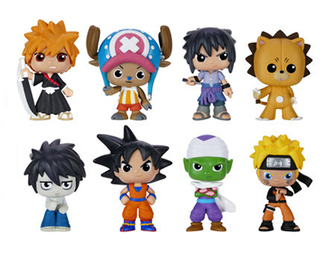 Funko Mystery Minis: Shonen Jump - One Mystery Figure (One Piece / Dragon Ball / Bleach / Naruto / Death Note) en internet