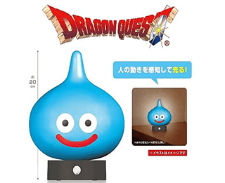 Dragon Quest Sensor Light - Se encienden cuando detectan movimiento!