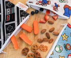 Snack Bag Nintendo - LARGE ó PACK DOBLE (Varios Modelos)