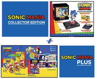 SONIC MANIA COLLECTOR EDITION + SONIC MANIA PLUS - PS4
