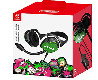 Splat & Chat Headset - Splatoon Switch