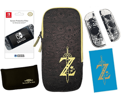 Zelda Breath of the Wild Starter Kit - Nintendo Switch - HORI - comprar online