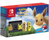 Switch Console Bundle - Pikachu & Eevee Edition with Pokemon: Let's Go, Eevee! + Poke Ball Plus