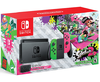 Switch Splatoon Special Edition Neon Green/Neon Pink Joy-Cons & Splatoon Case (incluye juego Splatoon 2)