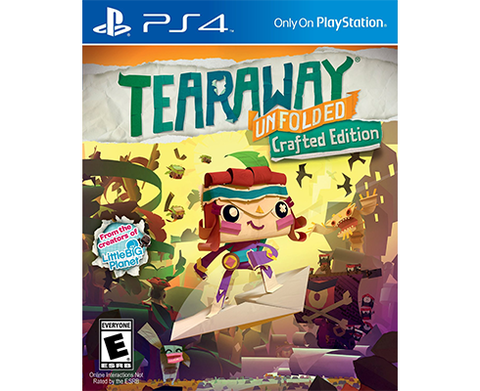 Tearaway Unfolded : Crafted edition