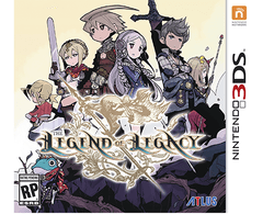 The Legend of Legacy - Launch Edition BONUS Included (Hardcover 40 page Art Book + OST ) - comprar online