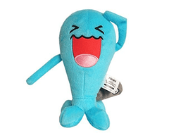 Plush Pokemon Official TOMY - Wobbuffet 7 Inch