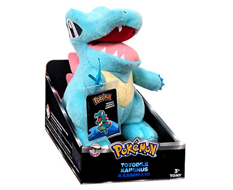 Plush Pokemon Trainer TOTODILE 21cm