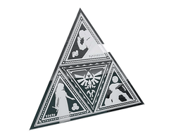 The Legend of Zelda - Triforce Mirror (Espejo con Forma) en internet