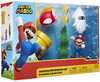 "SUPER MARIO Nintendo Underwater 2.5"" Figure Diorama Play Set, Includes: Mario, Cheep-Cheep, Blooper, Mechanical Warp Pipe, Spinning Water Plant & Two Coins"