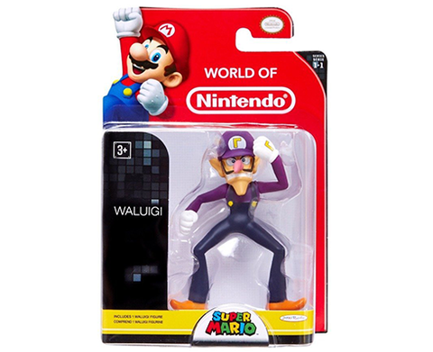 World of Nintendo - 2,5 inch - Waluigi