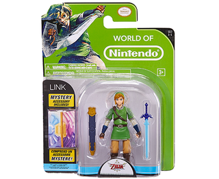 World of Nintendo - 4 inch - Link & Mystery Accesory