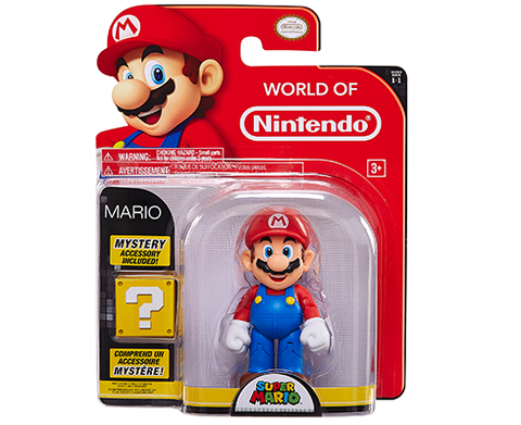 World of Nintendo - 4 inch - Mario & Mystery Accesory