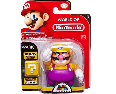World of Nintendo - 4 inch - Wario & Mystery Accesory