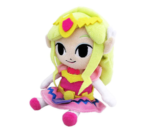 Plush Princess Zelda