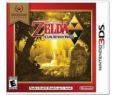 The Legend of Zelda : A Link Between Worlds 3DS