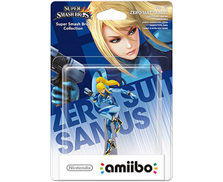 Amiibo Super Smash Bros. - Zero Suit Samus