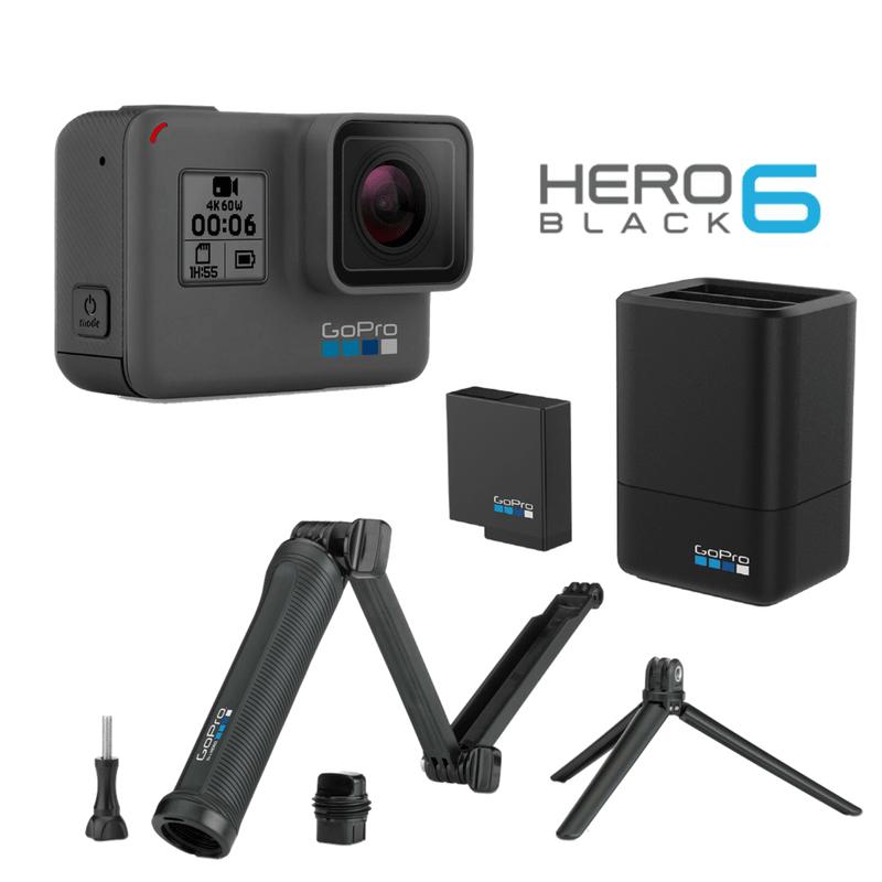 Combo 3-Way  -  GoPro Hero 6 Black + Accesorios