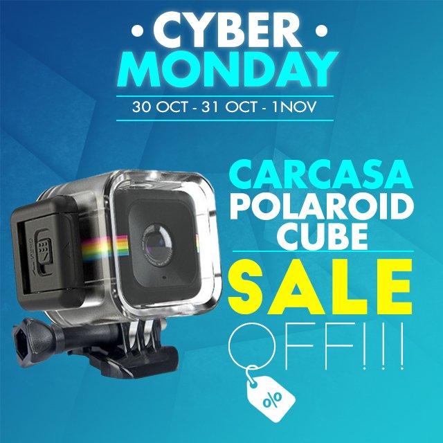 Carcasa Sumergible Para Polaroid Cube y Cube+ KINGMA c6131e23ee