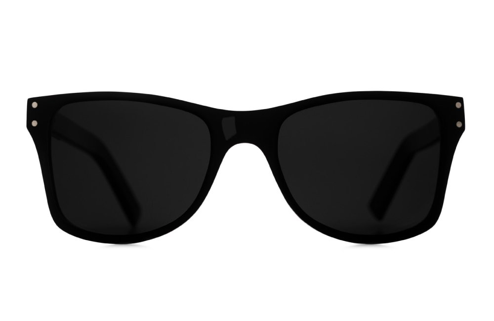 Wood sunglasses - Numag - Charles Black Two Tone - Madrona