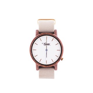 Reloj de madera Numag Madison Grey Concrete