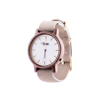 Wooden Watch Numag Madison Grey Concrete