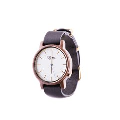 Reloj De Madera Numag Madison Black