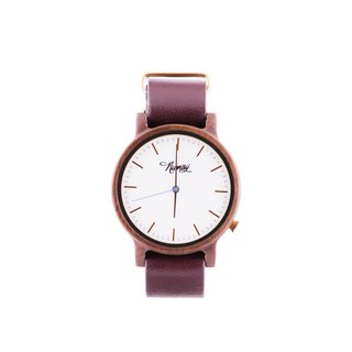 Wooden Watch Numag Madison Tanned Brown