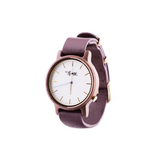 Reloj de madera Numag Madison Tanned Brown