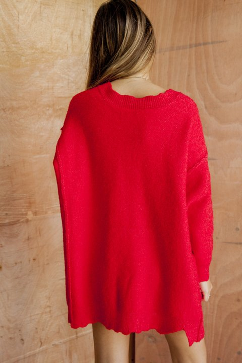 Sweater Nixi [rojo] - MadnessClothing