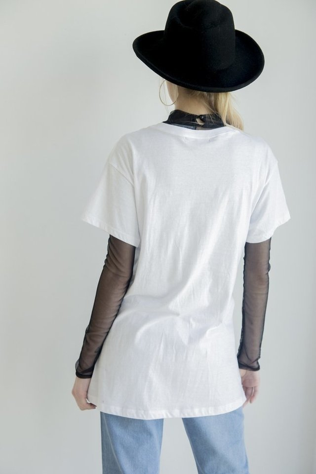 Remera Taylor [Blanco] en internet
