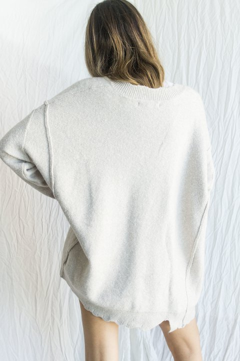 Sweater Nixi [gris] - MadnessClothing
