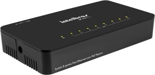 Switch 8 Portas 10/100 Mbps Sf 800 Q+ Intelbras - comprar online