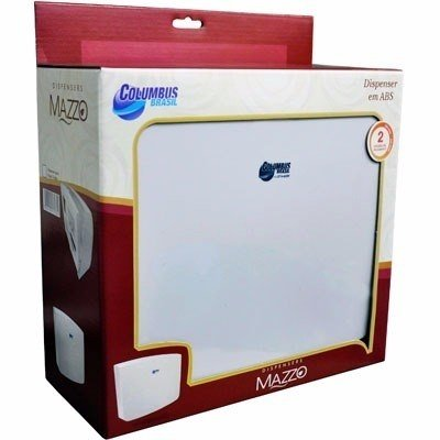 Dispenser Papel Toalha Interfolhas 2/3 Dobras Mazzo Columbus - comprar online