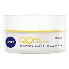 Creme Antissinais Nivea Q10 Plus Dia Pele Normal A Seca Fps