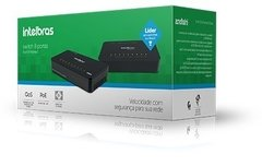 Switch 8 Portas 10/100 Mbps Sf 800 Q+ Intelbras